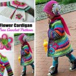 How To Crochet A Colorful Cute Kids Coat – Free Pattern