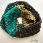How To Cross Stitch An Infinity Scarf