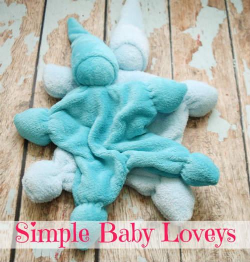 DIY Baby Loveys