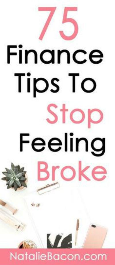 Make Money/Save Money - 75 Personal Finance Tips