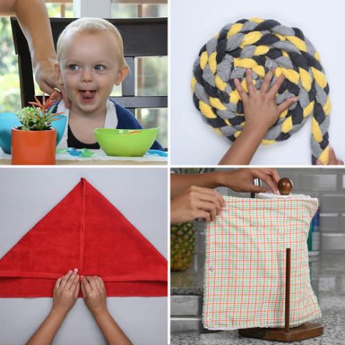 Problem-Absorbing Towel Hacks
