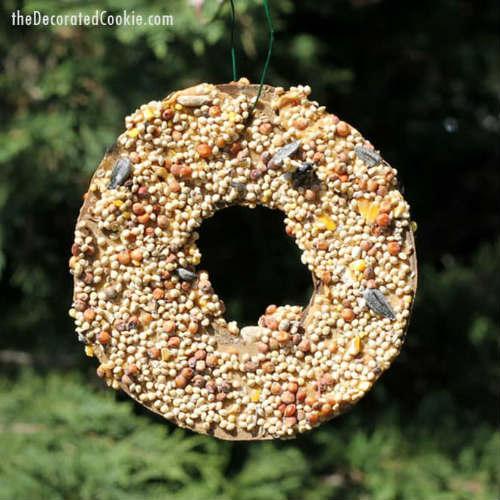 Super Easy DIY Birdseed Ornaments