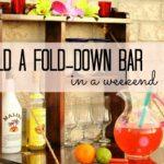 DIY Fold Down Bar