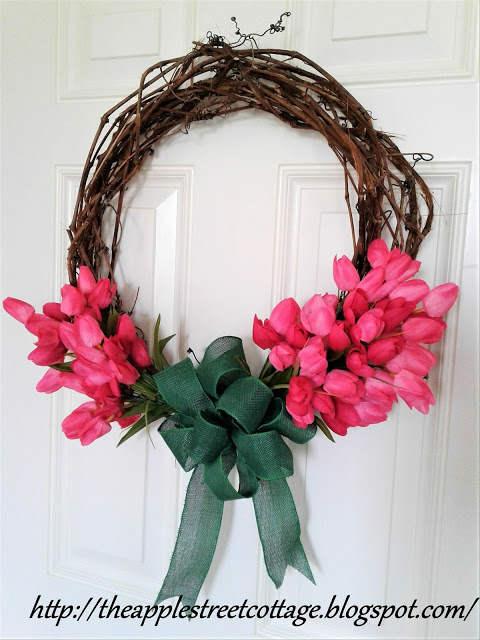 Spring Grapevine Wreath Tutorial