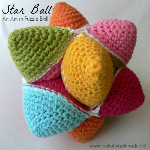 Free Pattern Amish Puzzle Ball Crochet Pattern Iseeidoimake