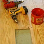 DIY Farmhouse Floors From Cheap 1×6 Pine