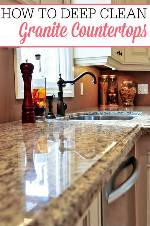 Deep Cleaning Granite Countertops – iSeeiDoiMake