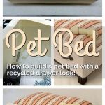 How to Make a DIY Dog Bed with a Recycled Drawer