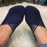 FREE PATTERN: Ballet Slippers Crochet Pattern