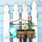 DIY Upcycled Shower Caddy For Small Vertical Garden