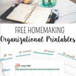 Custom Homemaking Binder Printables
